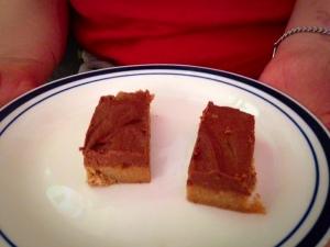 choc fudge slice